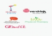 design a professional and creative logo for you