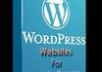 show you the simplest way to make a wordpress website