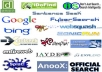 do manual Search Engine Submission of your website to highest rated 100+ Internet Search Engines