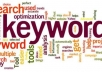 analyse your top 20 competitors for 5 different keywords