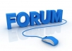 promote your webpage or website link over 1000 PR1 to PR8 forums in just 24 hr