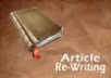 manually rewrite English articles / documents up to 2000 words