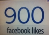 Give your fan page 900 REAL & guaranteed Facebook likes