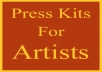 give you information on how to make your press kit stand out from everybody in this music business