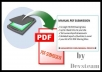 do PDF submission to 15 document sharing sites 100% manually