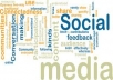 I will promote your business or product via social networking and get a lot of people to view and be informed of it.