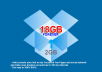 make your Dropbox account to 18GB via 32 Referrals FOREVER