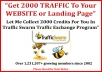 collect 2000 CREDITS in your or create new traffic swarm account and plus more within less than 48 hours time