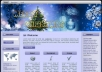 give Christmas HTML, WP, & Blogger Template #6A