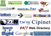 Manually Submit your Website to 50+ highest Rated PR3 to PR7 Directories