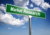 market research, business research, online research