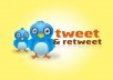 add 200+ Twitter Retweets, No Password Required,