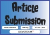 submit your articles to top 25 Article Submission Websites