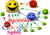 write blog post with two permanent backlinks