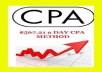 Show you how to make $500 per day from CPA, guaranteed income