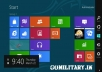 teach you to use and workaround Windows 8