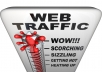get you 3000+ worldwide human visitors |5+ SECONDS visit| to your website/blog