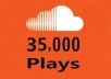 deliver 35,000 soundcloud plays in just 48 hours
