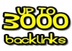 Create 3k Profile Anchored Text Backlinks to your website
