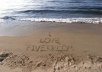 write your message on various beautiful locations