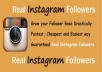 send you 50 real instagram followers in up to 48 hours for