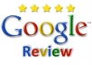give 2 US Google Reviews about your business or online services with best rating