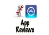 download use and review your iPhone app on iTunes