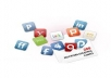 Make 200 web 2.0 seo microblogging dofollow backlinks