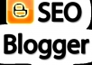 give Unique 4880+ Traffic to your Blogger Blog Get Alexa Rank high