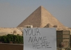 take a personalized photo at The Great Pyramid of Giza, Egypt