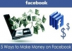 teach you how to make 550 dollars daily on facebook