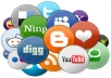 give you 25 reddit and 25 delicious social bookmarking within 72 hours