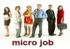 build a micro job site