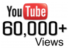 give you 60000+ YouTube Views + 25 likes, 40+ subscribers, 15 favorites, 40 custom comments, the best all in one gig, REAL Human Guaranteed with high audience retention rate