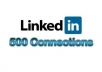 instantly ADD 500+ Real Targeted Linkedin Connections To Your account within 2hours