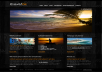 Awesome black template for travel agency. Cool stylish design and hign usability. You can easily download it, change text, images, links. This template has a high potential for customization.