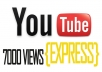 quickly get you 5555+ Real human youtube views to your youtube video in just 24 hours