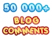 build MASSIVE 50 000 blog comment backlinks with full report and pinging