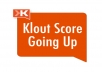 give you step by step tutorial how to get free +Ks on Klout