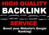 provide 700 High Pr SEO Backlinks For Your Website Which Are Google Panda And Penguin Safe + Will Pinged With Full Report