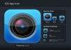 design professional eye catching realistic iphone app icon