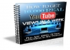 show you how to get 10 Thousand Views On Youtube In A Short Period Of Time