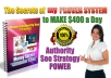 Revealed 400dollar A Day From SEO-My Entire Authority SEO Strategy