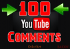 write 100 comments manually on your Youtube video