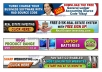 design a professional banner for your website/blog according to your specifications