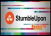 make 100+ STUMBLEUPON bookmark of your website/blog/youtube video