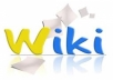 generate An ARTICLE About Your Niche,Spun it and Submit it to 1000+ Wiki Pages Slowly
