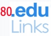 Send you my awesome fresh list of over 80 EDU pages where you can leave your backlink