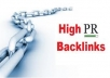 Do 32 PR4 high pr Backlinks Dofollow pages