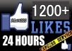 give 1200+ USA Facebook Likes from Best Quality Profiled Users to your Fan Page in less than 2 hours without admin access